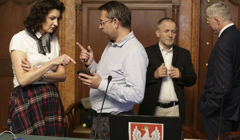 """Film do artykułu: Nie doszło do nadzwyczajnej sesji Rady Miejskiej w Słupsku w sprawie """"Klątwy"""""""
