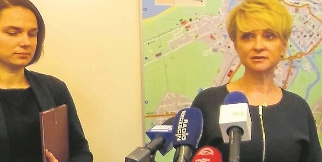 Prezydent Mieczkowska przedstawiła projekt Karty w towarzystwie swoich zastępczyń