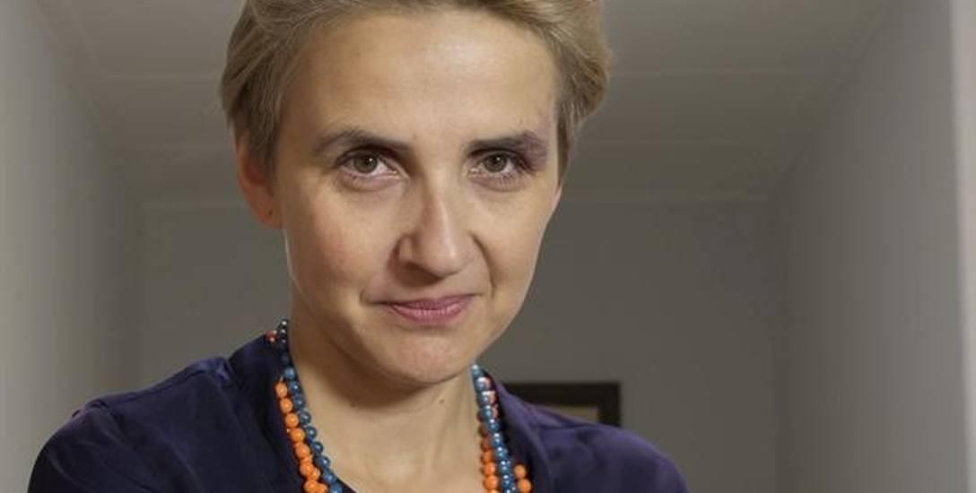 Joanna Scheuring-Wielgus: - U nas była taka zasada, że to prezydium decyduje o tym, kto będzie się wypowiadał w imieniu klubu. Prezydium zdecydowało,