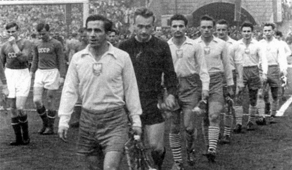 Film do artykułu: Mecz Polska - ZSRR 2:1. Drugą bramkę Cieślika pamiętam doskonale