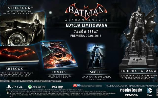 Batman: Arkham Knight. Fragmenty rozgrywki i edycje specjalne (wideo)