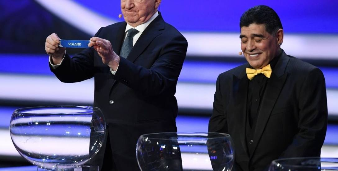 Drużyna trenera Adama Nawałki (siódme miejsce rankingu FIFA) była losowana z pierwszego koszyka.