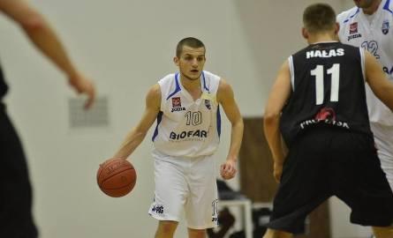 Piotr Wieloch zdobył dla Biofarmu Basket 13 punktów