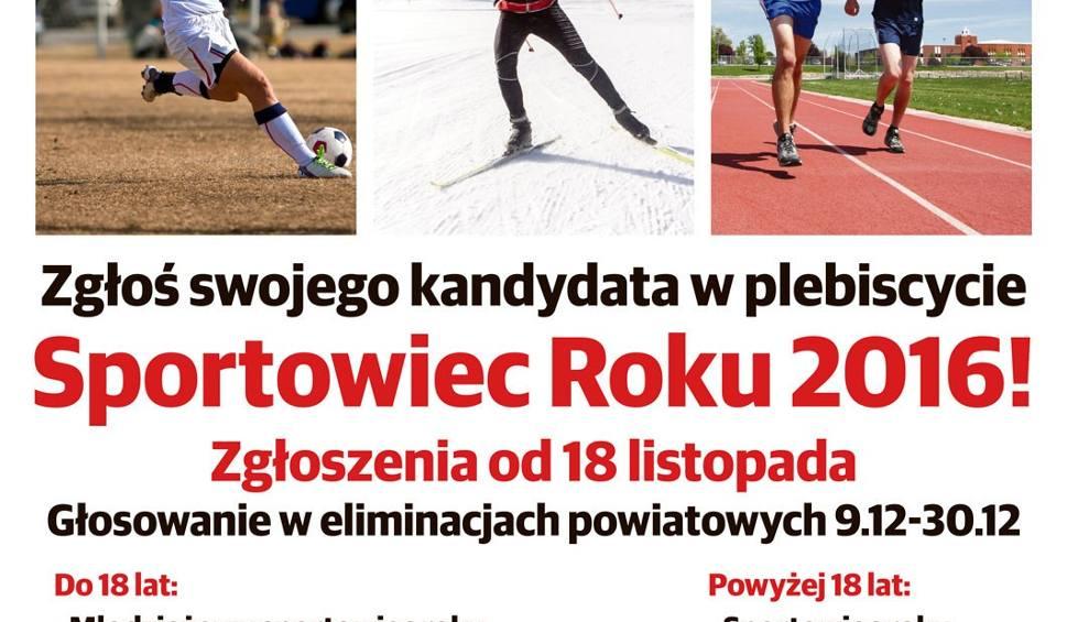 Film do artykułu: Plebiscyt Sportowiec Roku 2016 Dziennika Zachodniego ZGŁOŚ KANDYDATA, KOŃCZY SIĘ CZAS!