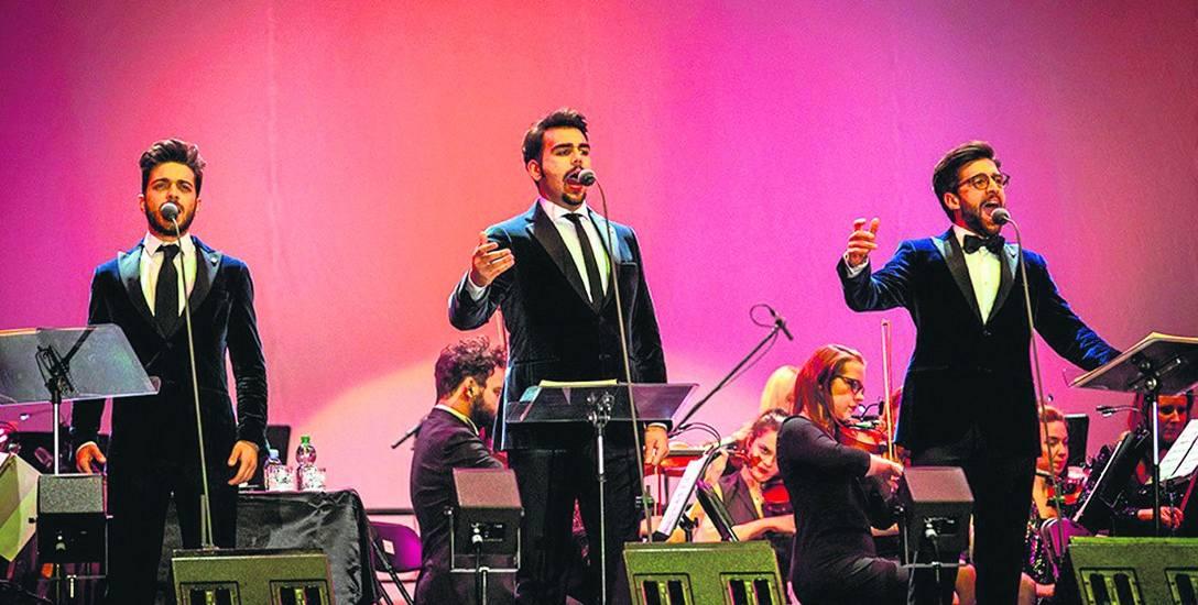 Il Volo tworzą: Piero Barone, Ignazio Boschetto i Gianluca Ginoble. Trio wystąpi 14 września na jedynym koncercie w Polsce