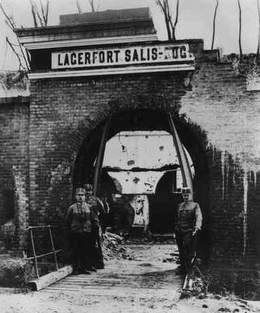 """Fort I """"Salis Soglio"""" w 1915 roku"""