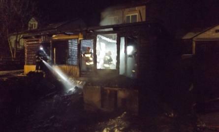 Nocny pożar w powiecie kieleckim. Nie żyje mężczyzna