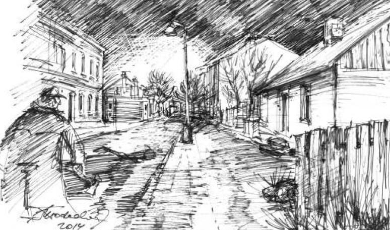 Ulica Cegielniana przed wojną to były prawdziwe peryferia