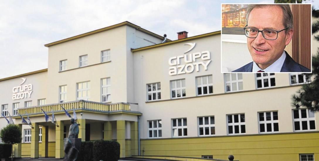 Wojciech Wardacki, prezes zarządu Grupy Azoty, może zarabiać nawet do 128 tys. zł brutto miesięcznie