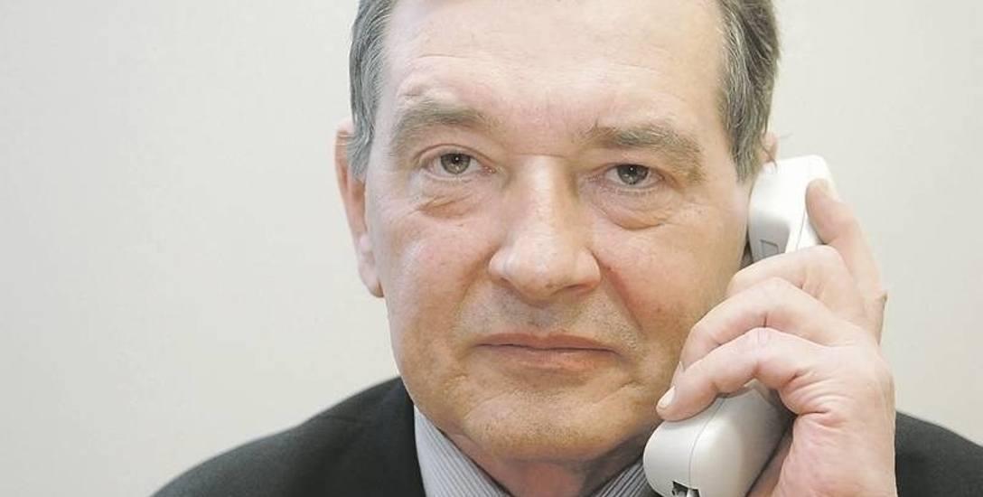 Ryszard Kiedrowski, prezes Lubuskiej Okręgowej Izby Aptekarskiej w Zielonej Górze.