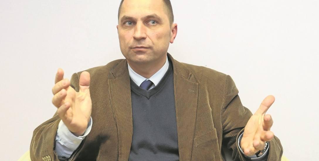 dr Marek Białkowski - były urzędnik miejski, adwokat, wykładowca Uniwersytetu Szczecińskiego, jeden z czterech zgłoszonych kandydatów Platformy Obywatelskiej