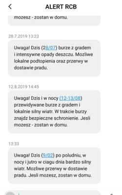 Alert RCB. Do mieszkańców Podkarpacia trafia SMS z ostrzeżeniem: uwaga na bardzo silny wiatr!