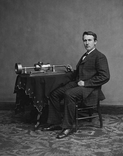 Edison pokazał fonograf i nagrał Bismarcka