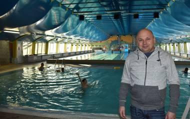 Dyrektor Miejskiego Ośrodka Sportu w Gubinie, Jacek Czerepko ma ciekawe plany na modernizację krytej pływalni.