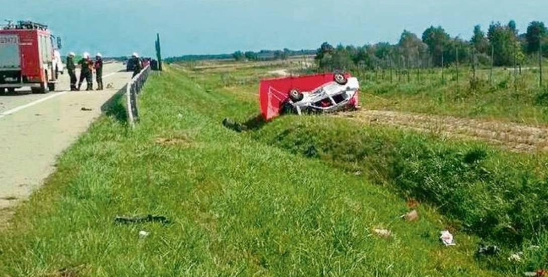 Tragiczny wypadek na autostradzie. Ciężarna kobieta zginęła w wypadku na autostradzie A1