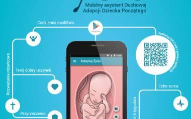 Aplikacja Adoptuj życie Fundacji Małych Stópek