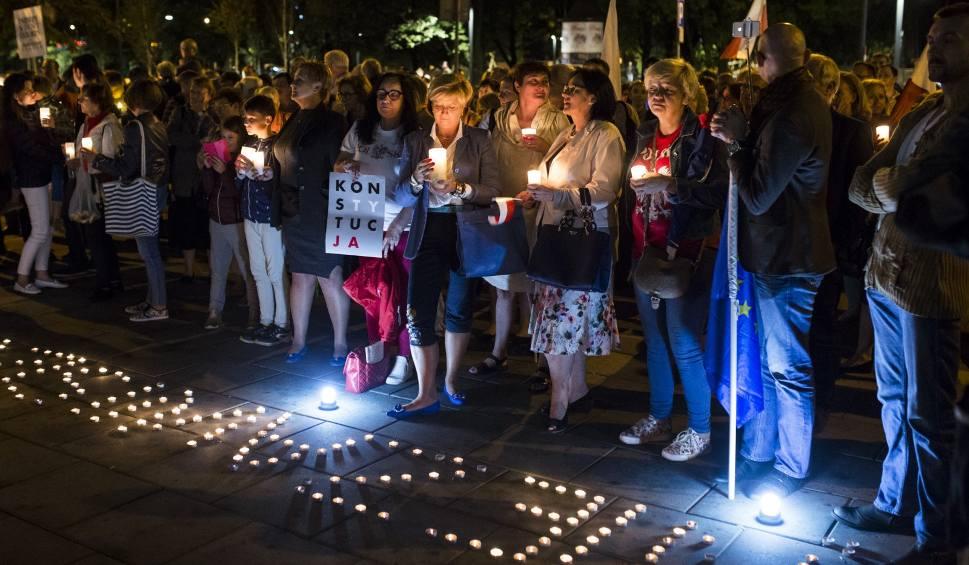 Film do artykułu: Protest w obronie sądów ponownie odbył się w Krakowie