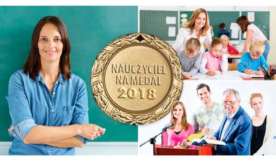 NAUCZYCIEL NA MEDAL - Oddaj swój głos na Nauczyciela na Medal!