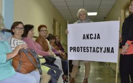Protest w szpitalu