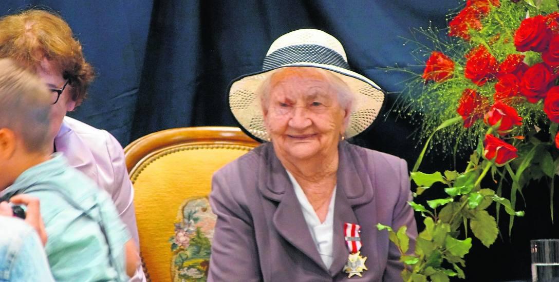 100 lat porucznik Walerii Kot z Brześcia. Pomagała rannym w czasie wojny