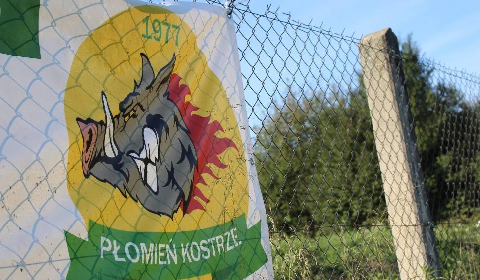 Film do artykułu: Regionalny Puchar Polski. Płomień Kostrze swojego prześladowcę umieścił w herbie [WIDEO, ZDJĘCIA]
