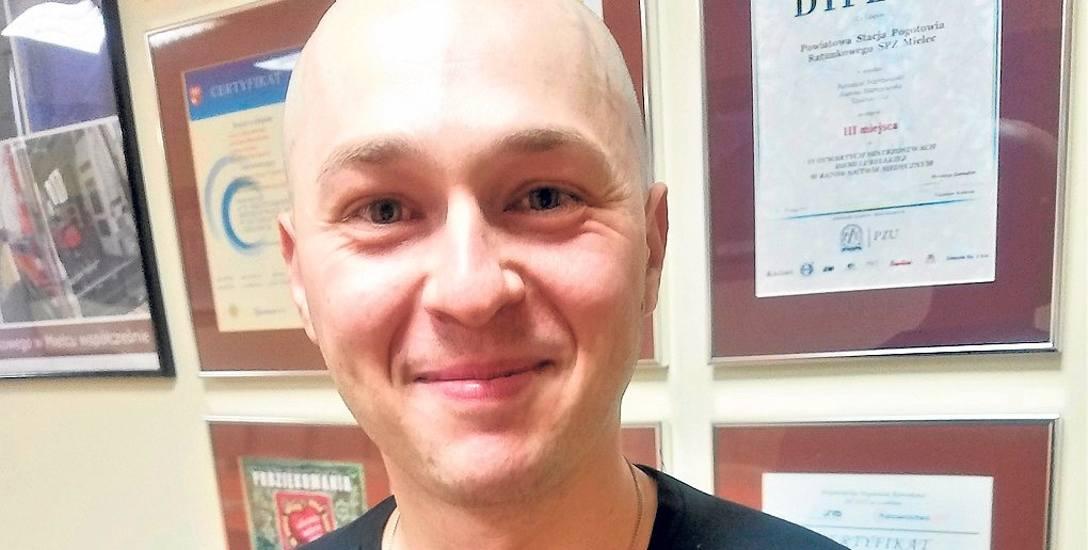 Janusz Lombara (na zdjęciu) swoją misję na stacji Arctowski rozpocznie 5 października
