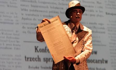 """Teatr Strefa Ciszy przygotował na nasze 70. urodziny  spektakl """"Głosy czasu"""""""