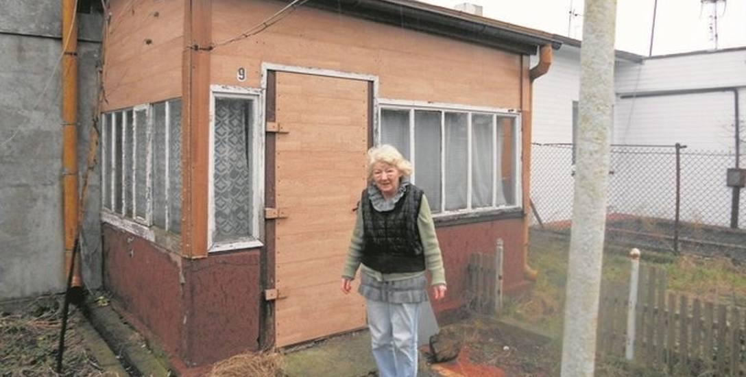 Krystyna Lewandowska dostała nakaz eksmisji z domku jednorodzinnego, który należał do jej życiowego partnera