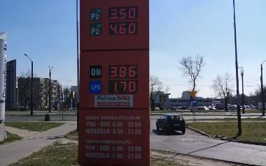 Ceny paliw są bardzo niskie