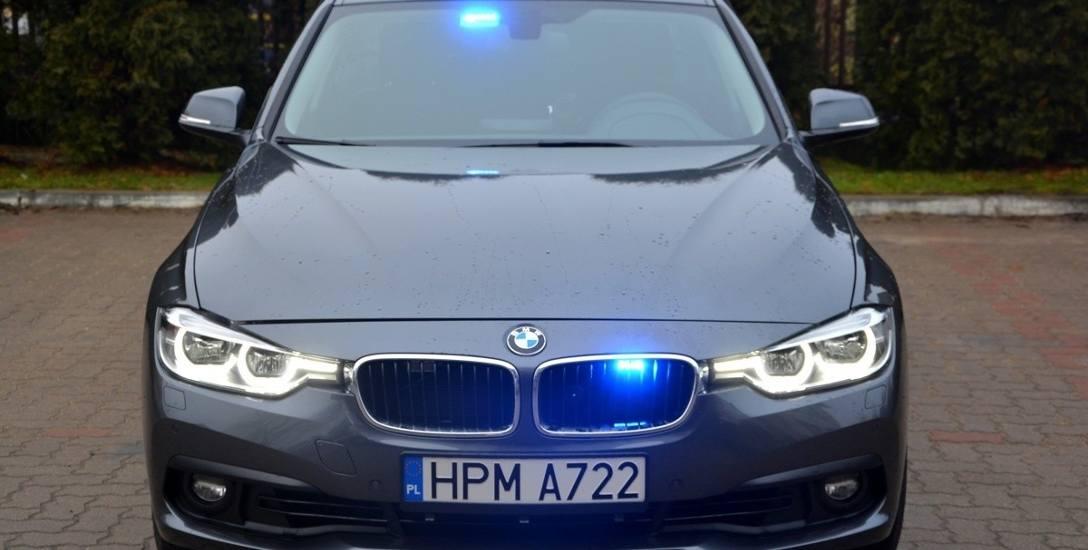BMW 330i xDrive to najnowsze nieoznakowane radiowozy, które będą służyć na rzecz poprawy bezpieczeństwa ruchu drogowego.