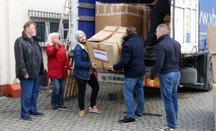 Transport pomocy humanitarnej od Krzyżaków dotarł do Lublina