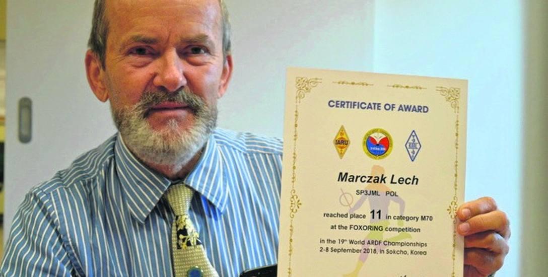 Lech Marczak ma marzenie: stworzyć w Lubuskiem drużynę uprawiających radioorientację. Może chcesz do niej dołączyć?