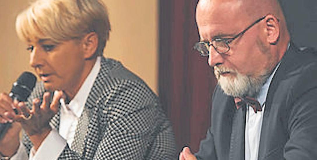 """W debacie """"Dziennika Zachodniego"""" w Ustroniu udział wzięło tylko dwoje kandydatów. Nieobecność Artura Kluza była jedną z głównych tematów dyskusji"""