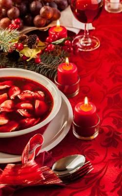Prosty świąteczny barszcz czerwony.