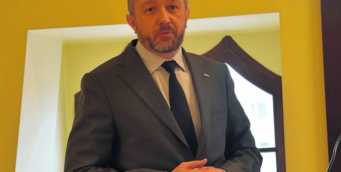 Grzegorz Stasik, dyrektor Rejonu Oświetleniowego Enea Szczecin uważa, że z oświetleniem w Stargardzie jest dobre