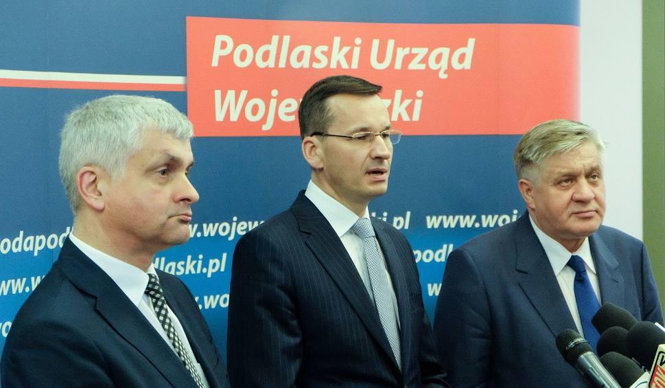 Film do artykułu: Wicepremier Mateusz Morawiecki w Białymstoku [ZDJĘCIA, WIDEO]
