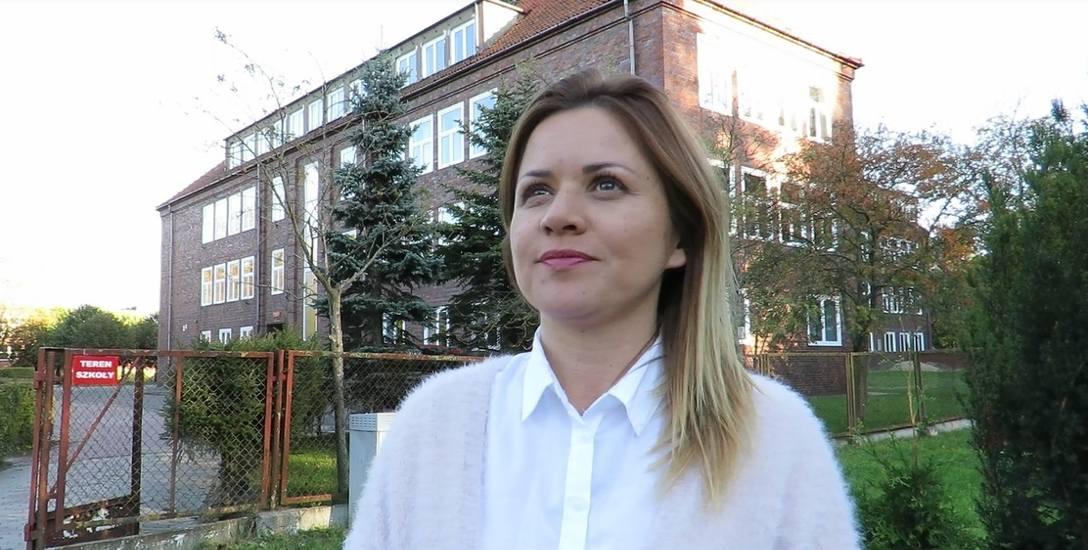 Ewelina Stach ma 38 lat. Kandyduje na fotel burmistrza Sławna z KWW Czas na mieszkańców