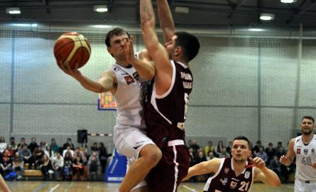 Marek Szumełda-Krzycki był czołowym graczem AGH (w białym stroju)