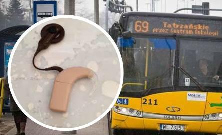 Pasażer zabrał z autobusu plecak Rozalii. A z nim - jej aparat słuchowy [nagranie z monitoringu]