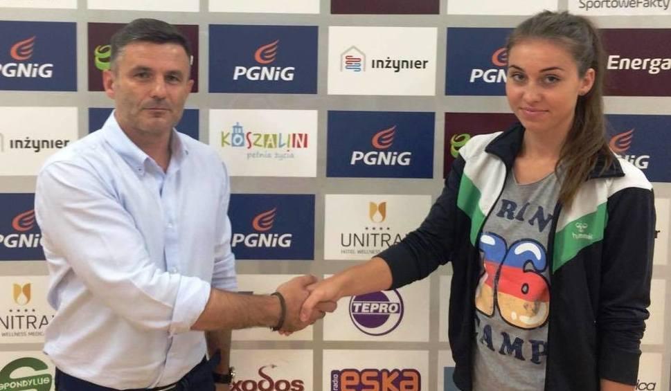 Film do artykułu: Kseniia Protsenko, nowa zawodniczka Energi AZS Koszalin