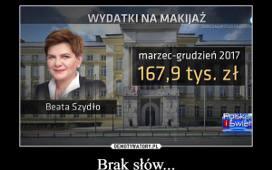 Beata Szydło I Kosmiczne Wydatki Na Wizażystów Zobacz Memy