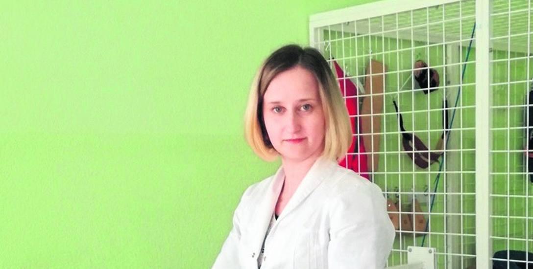 """Dorota Turska - Chudy z """"Kinezis"""", współwłaścicielka przychodni świadczy usługi rehabilitacyjne od 2010 roku"""