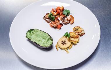 Tak prezentowała się potrawa przygotowana przez kielczankę Lenę Górę.