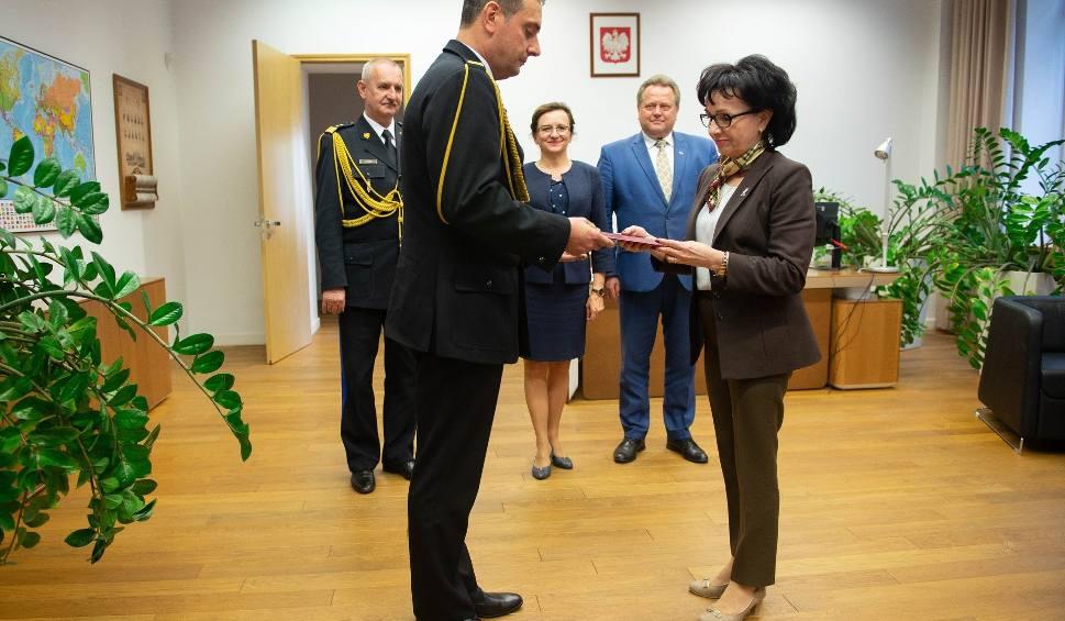 Film do artykułu: Krzysztof Ciosek nowym komendantem wojewódzkim świętokrzyskiej straży pożarnej