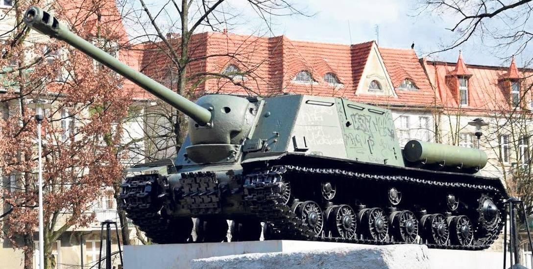 Działo samobieżne ISU-122 według władz Malborka nie jest pomnikiem