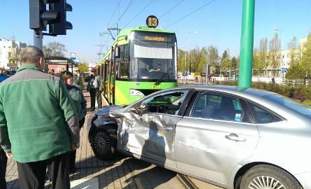 Wypadek na Grunwaldzkiej. Na Junikowo autobusem