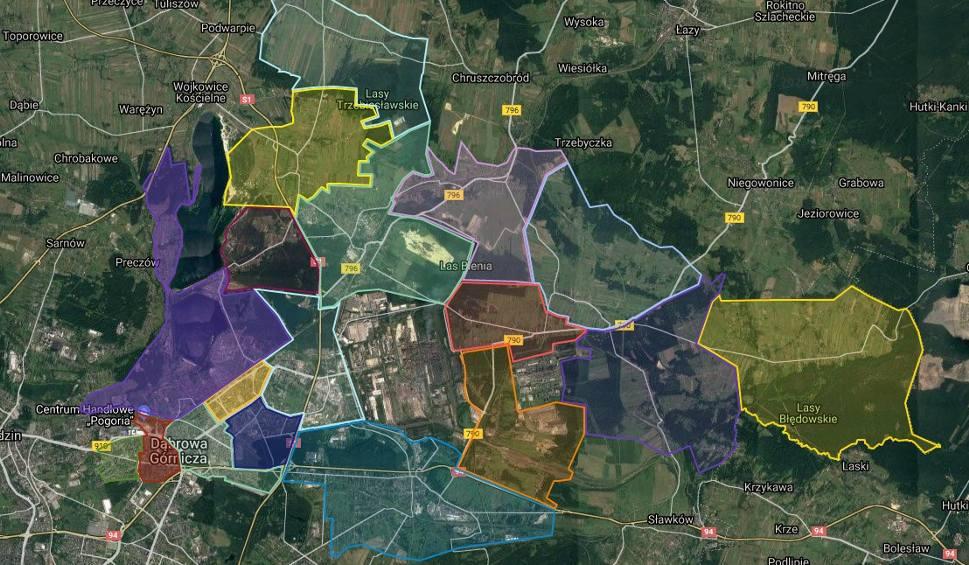 Film do artykułu: Dąbrowa Górnicza: nowy podział miasta na 18 dzielnic i 36 osiedli. Po co te zmiany? ZDJĘCIA