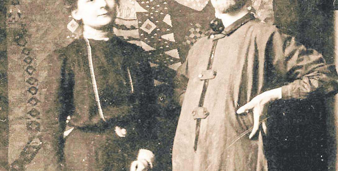 Wanda Bibrowicz i Max Wislicenus