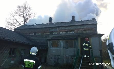 DZ24: Pożar domu w Zdowie [ZDJĘCIA]