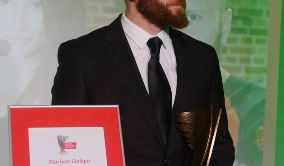 Film do artykułu: Mariusz Cielepa, najpopularniejszy trener w plebiscycie Gazety Lubuskiej, został zaskoczony wygraną